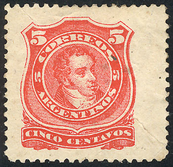 Lot 118 - Argentina general issues -  Guillermo Jalil - Philatino Auction # 1918 ARGENTINA: