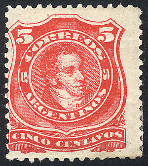 Lot 119 - Argentina general issues -  Guillermo Jalil - Philatino Auction # 1918 ARGENTINA: