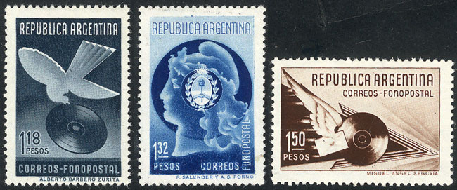 Lot 500 - Argentina general issues -  Guillermo Jalil - Philatino Auction # 1918 ARGENTINA: