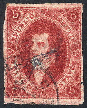 Lot 82 - Argentina rivadavias -  Guillermo Jalil - Philatino Auction # 1918 ARGENTINA: