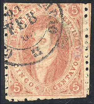 Lot 59 - Argentina rivadavias -  Guillermo Jalil - Philatino Auction # 1918 ARGENTINA: