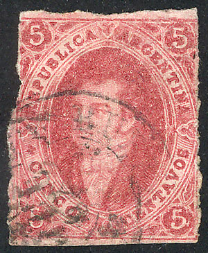 Lot 87 - Argentina rivadavias -  Guillermo Jalil - Philatino Auction # 1918 ARGENTINA: