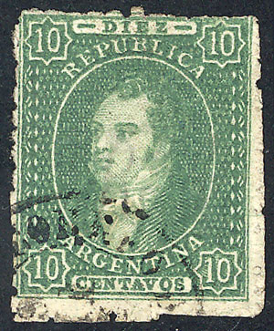Lot 67 - Argentina rivadavias -  Guillermo Jalil - Philatino Auction # 1918 ARGENTINA: