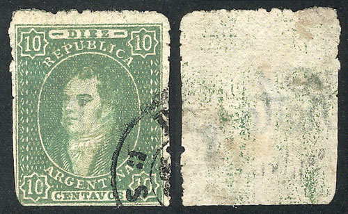 Lot 68 - Argentina rivadavias -  Guillermo Jalil - Philatino Auction # 1918 ARGENTINA: