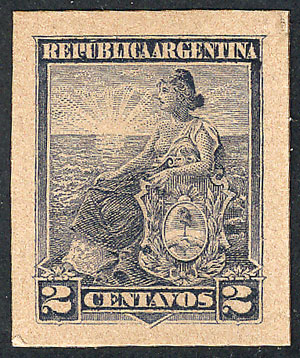 Lot 231 - Argentina general issues -  Guillermo Jalil - Philatino Auction # 1918 ARGENTINA: