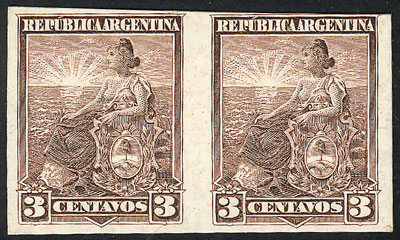 Lot 233 - Argentina general issues -  Guillermo Jalil - Philatino Auction # 1918 ARGENTINA: