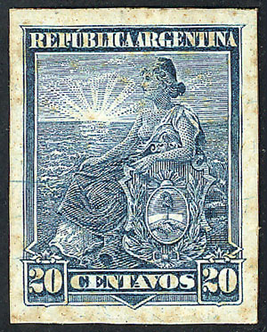 Lot 245 - Argentina general issues -  Guillermo Jalil - Philatino Auction # 1918 ARGENTINA: