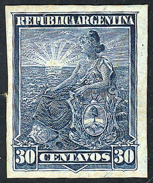 Lot 250 - Argentina general issues -  Guillermo Jalil - Philatino Auction # 1918 ARGENTINA: