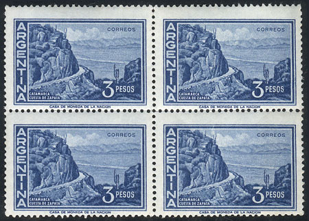 Lot 669 - Argentina general issues -  Guillermo Jalil - Philatino Auction # 1918 ARGENTINA: