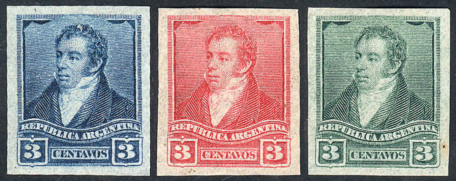Lot 161 - Argentina general issues -  Guillermo Jalil - Philatino Auction # 1918 ARGENTINA: