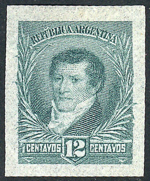 Lot 174 - Argentina general issues -  Guillermo Jalil - Philatino Auction # 1918 ARGENTINA: