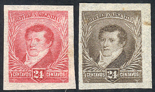 Lot 181 - Argentina general issues -  Guillermo Jalil - Philatino Auction # 1918 ARGENTINA: