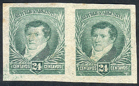Lot 183 - Argentina general issues -  Guillermo Jalil - Philatino Auction # 1918 ARGENTINA: