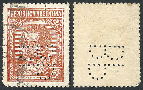 Lot 476 - Argentina general issues -  Guillermo Jalil - Philatino Auction # 1918 ARGENTINA: