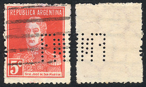 Lot 408 - Argentina general issues -  Guillermo Jalil - Philatino Auction # 1918 ARGENTINA: