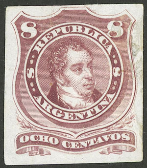Lot 104 - Argentina general issues -  Guillermo Jalil - Philatino Auction # 1918 ARGENTINA:
