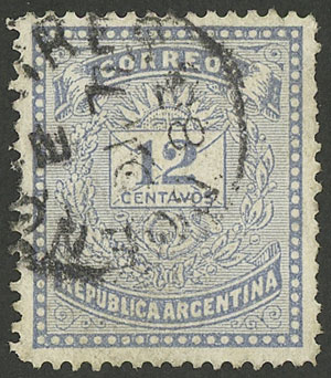 Lot 110 - Argentina general issues -  Guillermo Jalil - Philatino Auction # 1918 ARGENTINA: