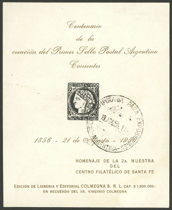 Lot 1014 - Argentina cinderellas -  Guillermo Jalil - Philatino Auction # 1918 ARGENTINA: