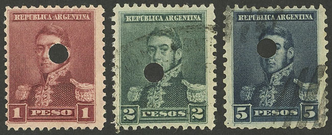 Lot 217 - Argentina general issues -  Guillermo Jalil - Philatino Auction # 1918 ARGENTINA: