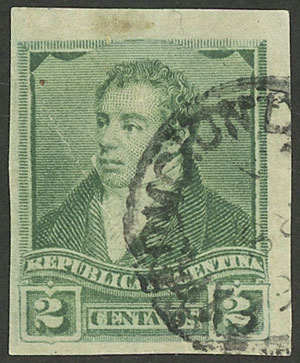 Lot 156 - Argentina general issues -  Guillermo Jalil - Philatino Auction # 1918 ARGENTINA: