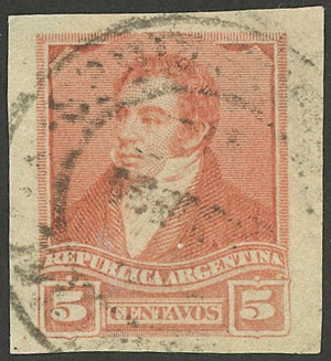 Lot 165 - Argentina general issues -  Guillermo Jalil - Philatino Auction # 1918 ARGENTINA: