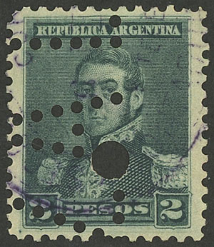 Lot 195 - Argentina general issues -  Guillermo Jalil - Philatino Auction # 1918 ARGENTINA:
