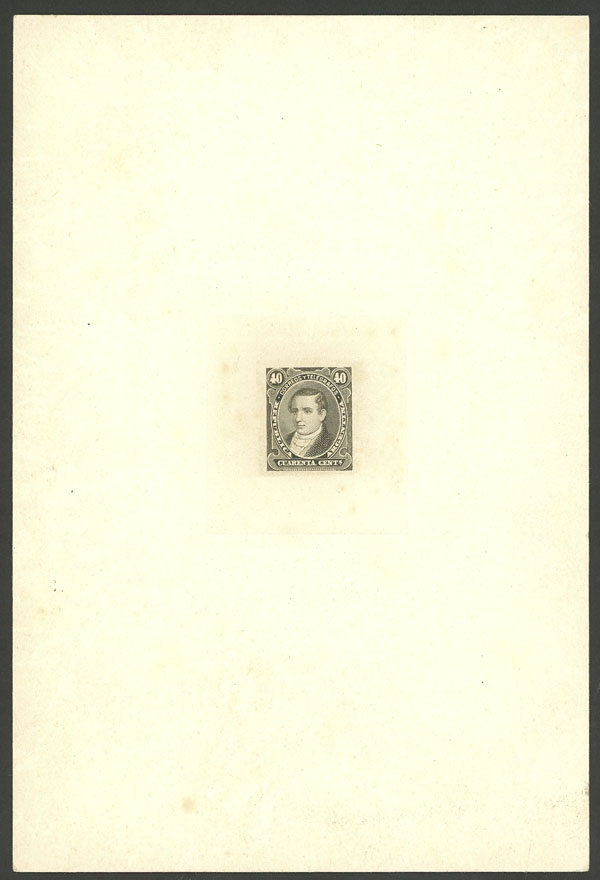 Lot 127 - Argentina general issues -  Guillermo Jalil - Philatino Auction # 1918 ARGENTINA: