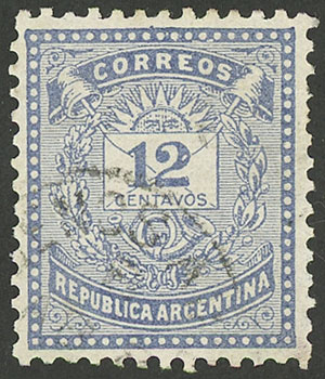 Lot 108 - Argentina general issues -  Guillermo Jalil - Philatino Auction # 1918 ARGENTINA: