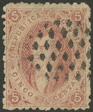 Lot 53 - Argentina rivadavias -  Guillermo Jalil - Philatino Auction # 1918 ARGENTINA: