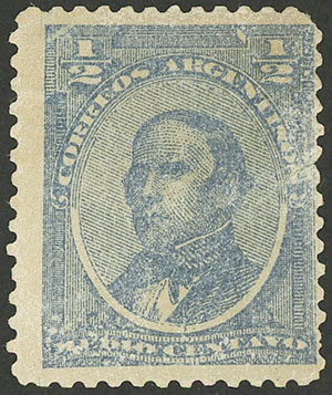 Lot 116 - Argentina general issues -  Guillermo Jalil - Philatino Auction # 1918 ARGENTINA: