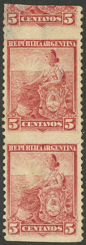 Lot 238 - Argentina general issues -  Guillermo Jalil - Philatino Auction # 1918 ARGENTINA:
