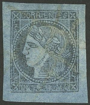 Lot 12 - Argentina corrientes -  Guillermo Jalil - Philatino Auction # 1918 ARGENTINA: