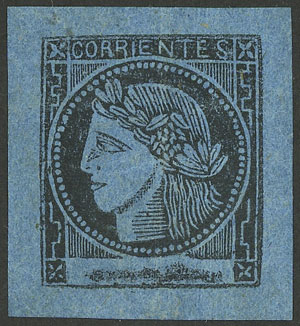 Lot 16 - Argentina corrientes -  Guillermo Jalil - Philatino Auction # 1918 ARGENTINA: