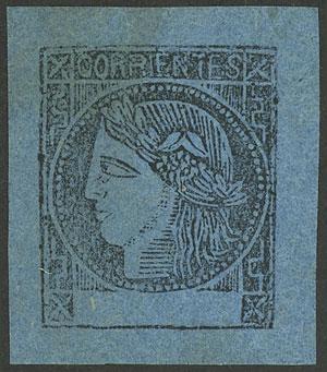 Lot 15 - Argentina corrientes -  Guillermo Jalil - Philatino Auction # 1918 ARGENTINA: