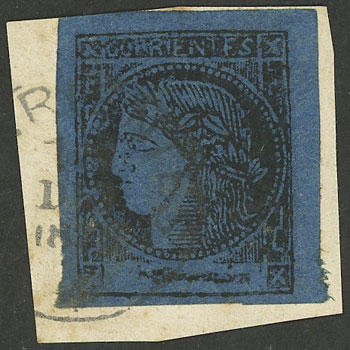 Lot 22 - Argentina corrientes -  Guillermo Jalil - Philatino Auction # 1918 ARGENTINA: