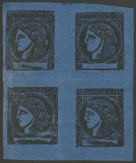 Lot 20 - Argentina corrientes -  Guillermo Jalil - Philatino Auction # 1918 ARGENTINA: