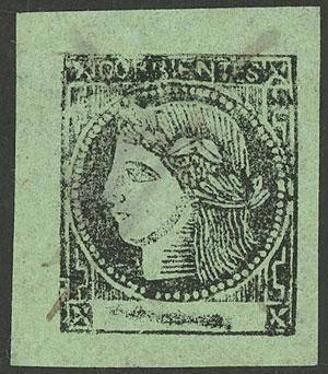 Lot 18 - Argentina corrientes -  Guillermo Jalil - Philatino Auction # 1918 ARGENTINA: