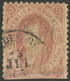 Lot 62 - Argentina rivadavias -  Guillermo Jalil - Philatino Auction # 1918 ARGENTINA: