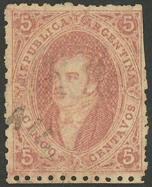 Lot 63 - Argentina rivadavias -  Guillermo Jalil - Philatino Auction # 1918 ARGENTINA: