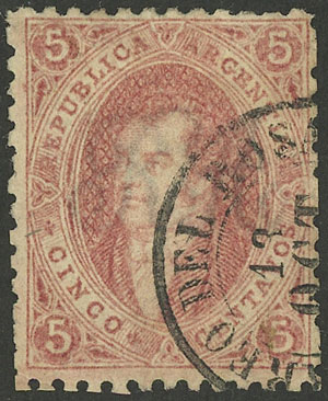 Lot 64 - Argentina rivadavias -  Guillermo Jalil - Philatino Auction # 1918 ARGENTINA:
