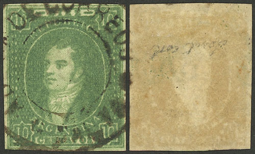 Lot 23 - Argentina rivadavias -  Guillermo Jalil - Philatino Auction #1919 ARGENTINA: Small selection of good lots