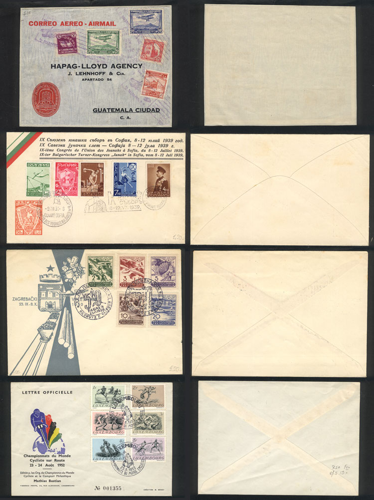Lot 11 - topic sport Lots and Collections -  Guillermo Jalil - Philatino Auction #1920 WORLDWIDE + ARGENTINA: General May auction
