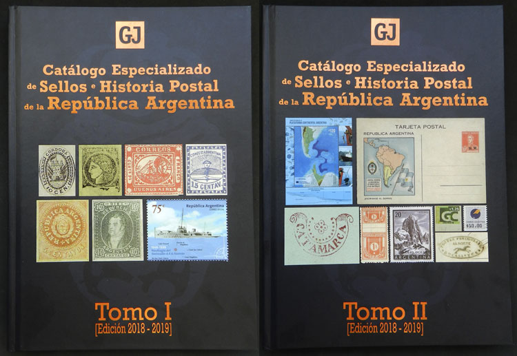 Lot 1 - Argentina books -  Guillermo Jalil - Philatino Auction #1920 WORLDWIDE + ARGENTINA: General May auction