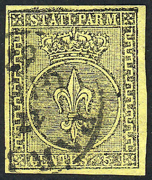 Lot 1174 - Italy parma -  Guillermo Jalil - Philatino Auction #1920 WORLDWIDE + ARGENTINA: General May auction