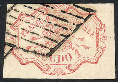 Lot 1166 - Italy papal states -  Guillermo Jalil - Philatino Auction #1920 WORLDWIDE + ARGENTINA: General May auction