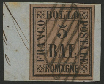 Lot 1178 - Italy romagna -  Guillermo Jalil - Philatino Auction #1920 WORLDWIDE + ARGENTINA: General May auction