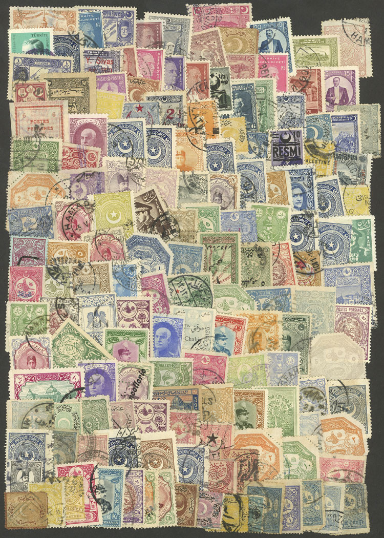 Lot 1385 - Turkey Lots and Collections -  Guillermo Jalil - Philatino Auction #1920 WORLDWIDE + ARGENTINA: General May auction