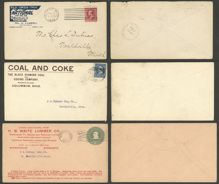 Stamp Auction - united states postal history - Auction #1920
