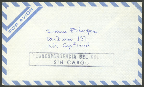Lot 1252 - falkland islands (malvinas) postal history -  Guillermo Jalil - Philatino Auction #1920 WORLDWIDE + ARGENTINA: General May auction
