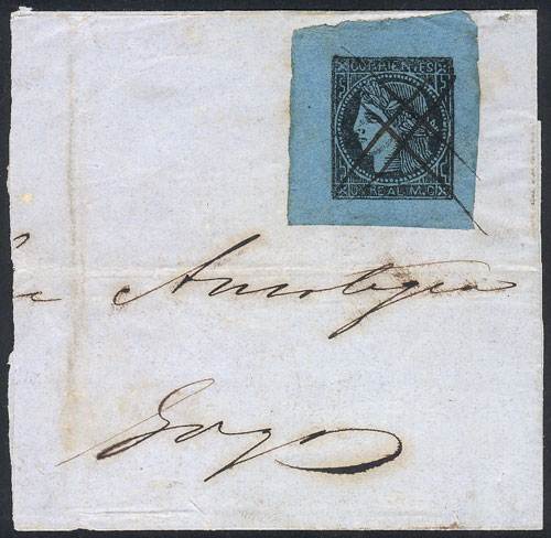 Lot 270 - Argentina corrientes -  Guillermo Jalil - Philatino Auction #1920 WORLDWIDE + ARGENTINA: General May auction